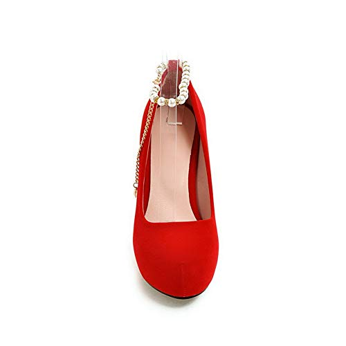 Plateau Rosso 1TO9 Donna Red MMS06179 35 con EU vxxnqUT
