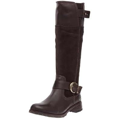 Timberland Earthkeepers Bethel Buckle Tall Zip Boot - Women's Dark Brown 5.5 Wide