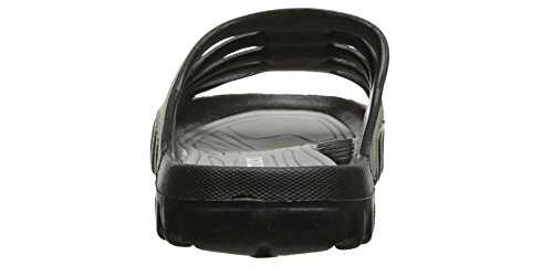 7 negro 's gris Women Sandal and Shower 8 Slide and Pool On Vertico 0x8gnvqW