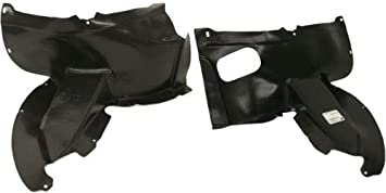 for Volkswagen CC VW1248111 2009 to 2012 Front, LH New Fender Splash Shield