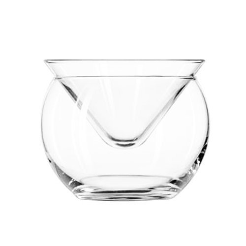Glass Caviar Server