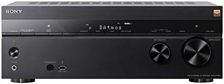 Sony STR-DN1080 7.2-ch Encompass Sound Residence Theater AV Receiver: 4K HDR, Dolby Atmos, Bluetooth, WiFi, Google Chromecast Black