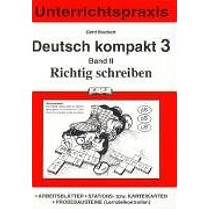 Deutsch Kompakt 3 Neue Rechtschreibung Bd4 Sprache