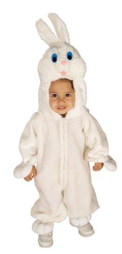 Forum Novelties Baby's Bunny Wabbit Toddler Costume, White (Bunny Costume Girls)
