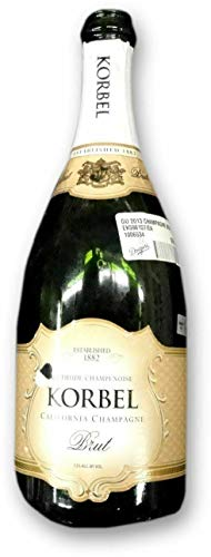 Korbel Brut Champagne Empty Bottle From Dodgers Clinching 2013 Western Division - MLB Unsigned Miscellaneous