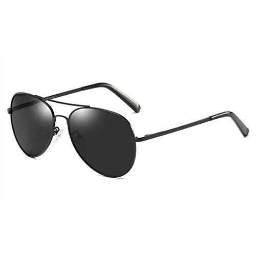Mujeres unisex Coolsir UV400 1 protección las Marco lentes polarizadas gafas Hombres sol Gafas del metal de conducción de 7q0xCw5