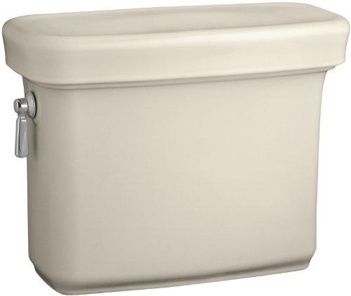 Kohler K-4383-47 Bancroft 1.28 gpf Toilet Tank, Almond - Bancroft Toilet Classic