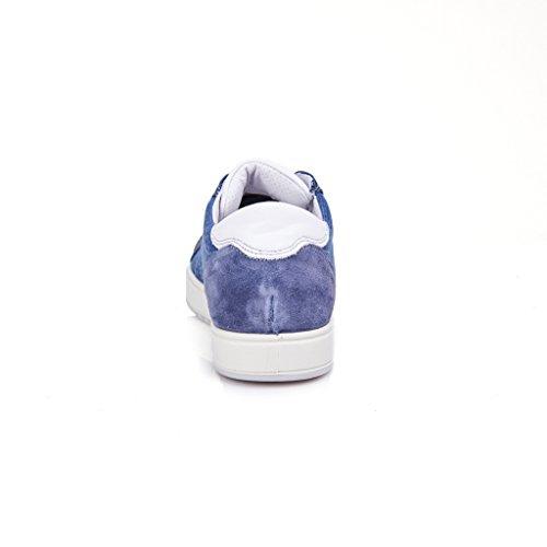 IGI&Co Sneakers Uomo Camoscio Blu 77255