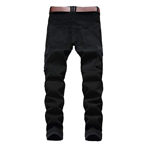 Denim 42 Nahum 2 Pantaloni 28 36 Casual Slim E Trosuers Stretch Yedda Cotone Estensibile Jeans Da Fit Uomo Lavoro Taglie 98 qYfHHxgd