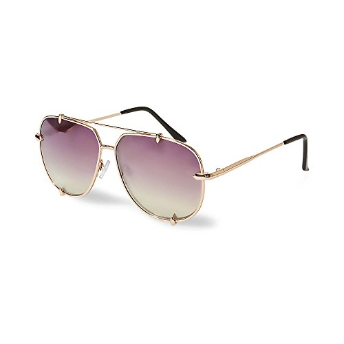 Steve Madden Women's Sm472178 Rose Gold 320 - Sunglasses Steve Madden Aviator