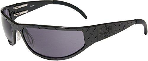 Outlaw Eyewear Felon, Black frame with Gray - Outlaw Eyewear