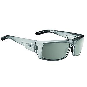 Spy Optic Admiral Wrap Sunglasses, 62 mm (Clear Smoke)