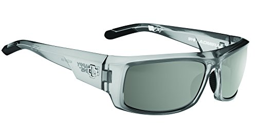 Spy Optic Admiral Wrap Sunglasses, 62 mm (Clear - Clear Optics