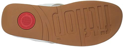 Lulu White urban Bianco Fitflop Toepost Leather Donna Infradito A8xq7RH