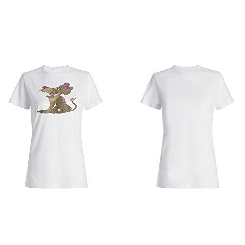 Angry Tiger Löwe König lustig neu Damen T-shirt e141f