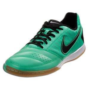 Nike Gato II Soccer Shoes -Green Glow/Black/White Sz 5.5