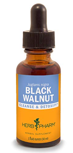 Herb Pharm Black Walnut Liquid Extract for Cleansing and Detoxifying - 1 Ounce