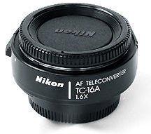 Nikon TC-16A AF Teleconverter (1.6X) (Nikon F5 F100)