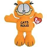 TY Bow Wow Beanies  Garfield  - Cat's Rule
