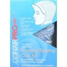 Conair Pro Frosting/Tipping Cap, 4 Count