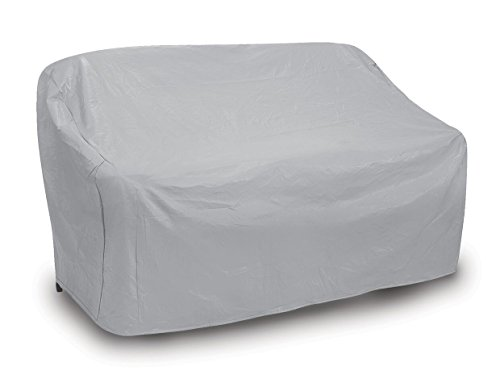Protective Covers Weatherproof 3 Seat Wicker/Rattan Sofa Cover, X Large, Gray ()