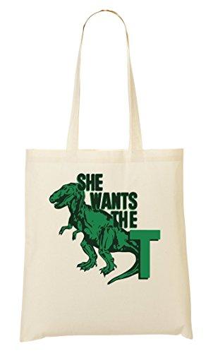 She Wants The T Cool T-Rex Sac Fourre-Tout Sac À Provisions