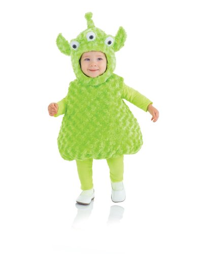 Underwraps Baby's Alien Belly-Babies, Green, X-Large (Alien Baby Costume)