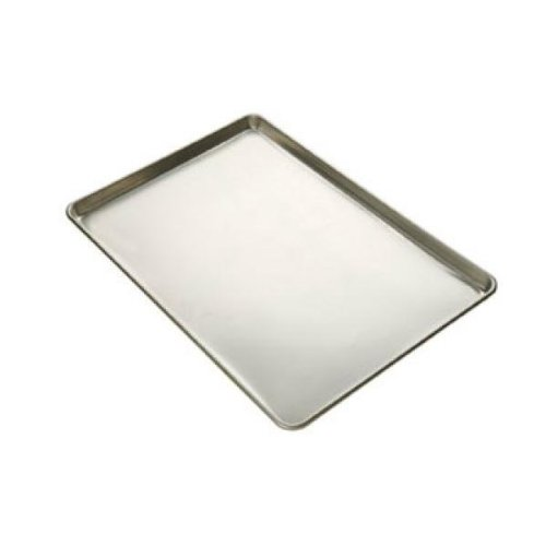 Focus Foodservice Full Size 16 Gauge Glazed Aluminum Sheet Pan, 18 x 26 x 1 inch -- 12 per case. by Focus Foodservice