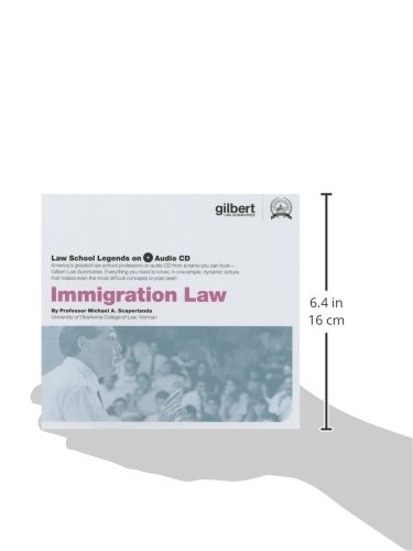 Law School Legends Audio on Immigration Law (Law School Legends Audio Series) by Gilbert