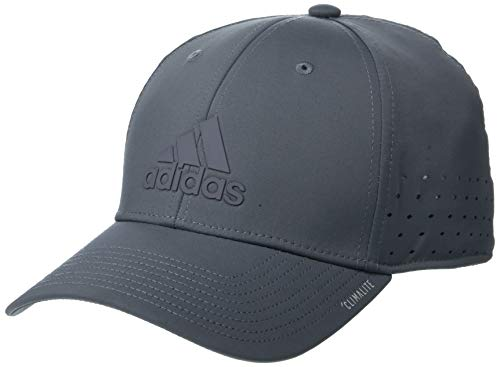 (adidas Men's Gameday Stretch Fit Structured Cap, Onix, Large/X-Large)