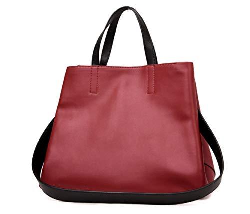à Femmes Sac Bandoulière Mode Sac à Main ZXMXK Red Capacité Grande xFO8wxd