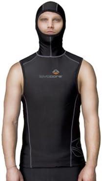 Lavacore Mens Polytherm Multi-Sport Scuba Diving Hooded Vest Exposure Garment, XL