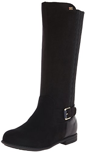 Tommy Hilfiger Kids Andrea Tall Chelsea Riding Boot ,Black,1