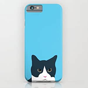 Society6 - Cat Face iPhone 6 Case by Marina Design