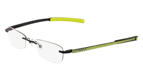 MARCHON AIRLOCK MANHATTAN / SOHO Eyeglasses 011 Black Neon Demo Lens - Glasses Frames Soho