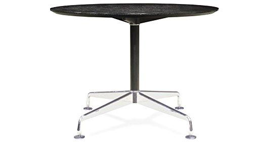 (Modern Jefferson Conference Table Black Oak)