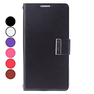 DD 20150511 PU Leather Full Body Case with Card Slot for Samsung Galaxy S4 I9500 , White