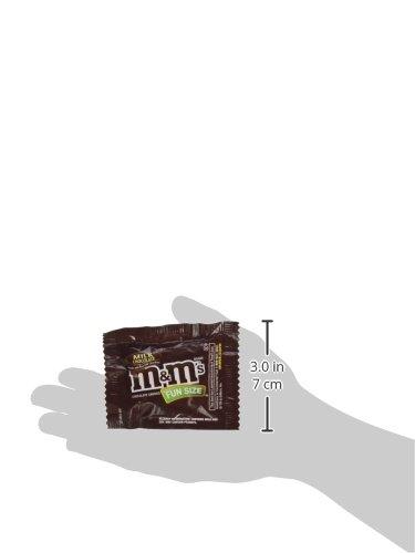 48 Pack M&M's Milk Chocolate&Peanut Fun Size Mi