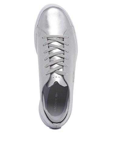 Metallic Lacoste silver Femme Baskets Eyyla Mode 66rAxvI