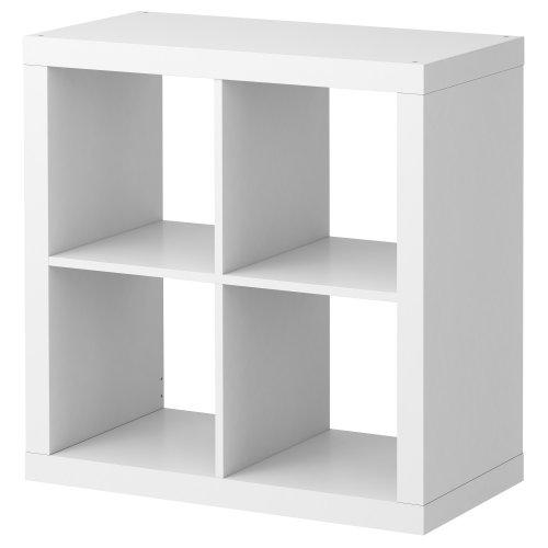 Ikea Estanteria Blanca Kallax, librero Ideal para cestas o Ca