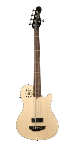 Godin A5 Ultra 5 String Bass - Natural SG RN SA