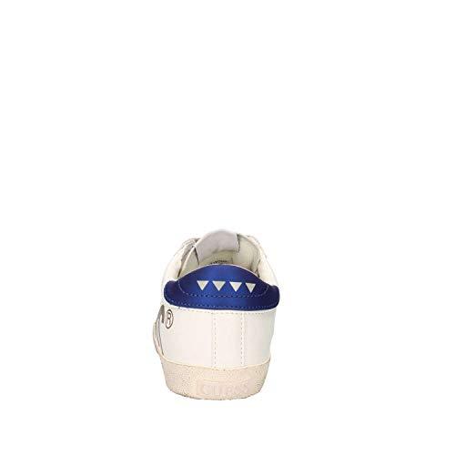 Uomo Guess Sneaker FMRYN4ELE12 White Blue 8ErEZwxfq