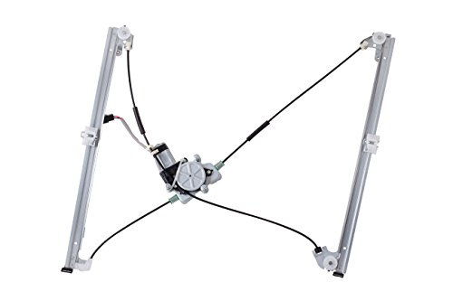 Plymouth Voyager Left Driver (HANSUN 8820-0033 Power Window Regulator With Motor Front Left Driver Side For Chrysler Dodge Plymouth - Grand Voyager Town & Country Caravan - Van)