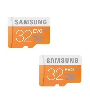 Teflon Mp Enterprise Samsung Evo 32gb Class 10 Micro Sdhc Memory Card Combo Pack Of 2