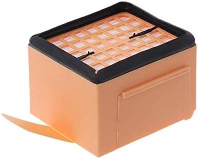 2 X Filtro Protezione Motore Cikuso Set Zubehoer per Vorwerk Kobold 135//136 // 135SC // VK135 // VK136-2 X Filtro Igienico 6 X Profumo