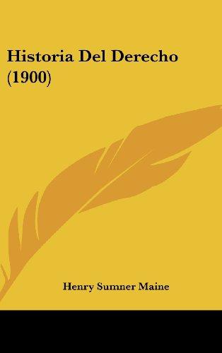 Historia del Derecho (1900)