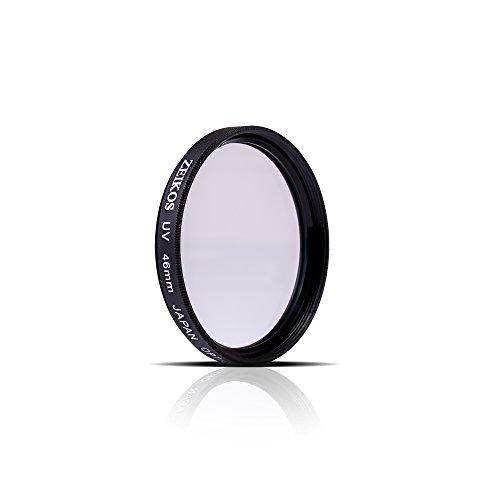 (Zeikos 46mm UV Protection Multi-Coated UV Filter For Olympus 25mm, 12mm f/2.0, 17mm f1.8, 60mm f/2.8, Panasonic LUMIX G 14mm f/2.5 & Lumix G X Vario PZ 45-175mm)
