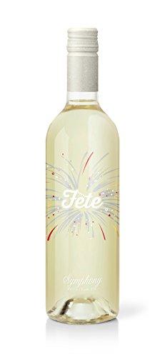 2015 Fete Symphony Wine, Wine Gift - Celebration Wine - Best Party Wine - Produced in Lodi, CA 750 ml - White Wine