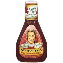 - Newman's Own Dressing Raspberry & Walnut Vinaigrette 16 oz. (Pack of 6)