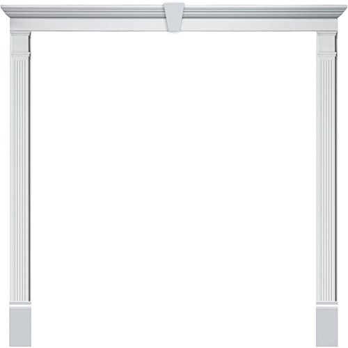 "Fypon DSKD08F9612K Double Door Surround Kit with 96""W x 1..."